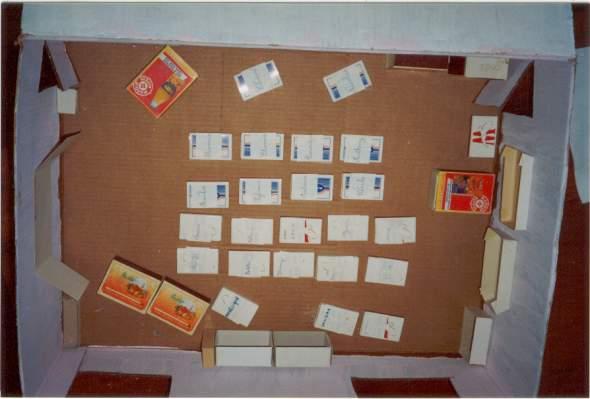 Ecole de sousceyrac maquette classe ce2 for Table vue de haut
